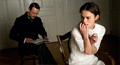 Dr. Carl Jung (Michael Fassbender) treats Sabina Spielrein (Keira Knightley) in this scene from A Dangerous Method.