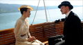 Dr. Carl Jung (Michael Fassbender) converses with Sabina Spielrein (Keira Knightley) in this scene from A Dangerous Method.