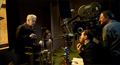David Cronenberg directs Keira Knightley and Michael Fassbender in this behind-the-scenes image from A Dangerous Method.