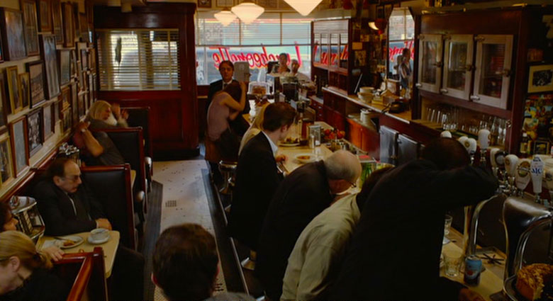 The Lakeview Restaurant as seen in a scene from Cosmopolis.