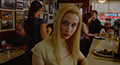 Elise Shifrin (Sarah Gadon) at The Lakeview Restaurant in a scene from Cosmopolis.