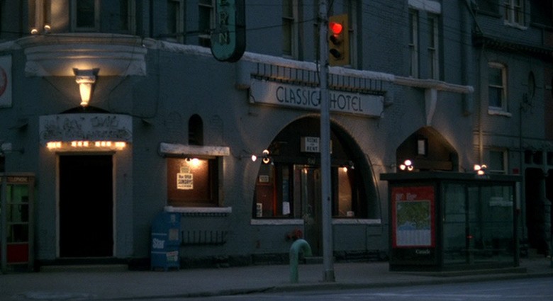 This Toronto building was used as the location for The Classic Hotel in Videodrome.
