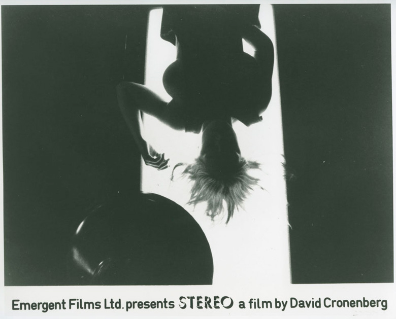 A young volunteer residing at the Canadian Academy for Erotic Inquiry is subject to experiments in this scene from Stereo.