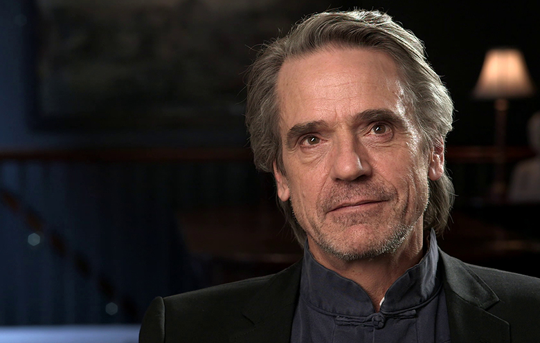 Actor Jeremy Irons is interviewed for the Cronenberg Project.