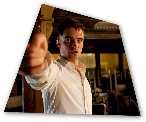Troubled 28-year-old billionaire Eric Paker (Robert Pattinson) in a scene from Cosmopolis.